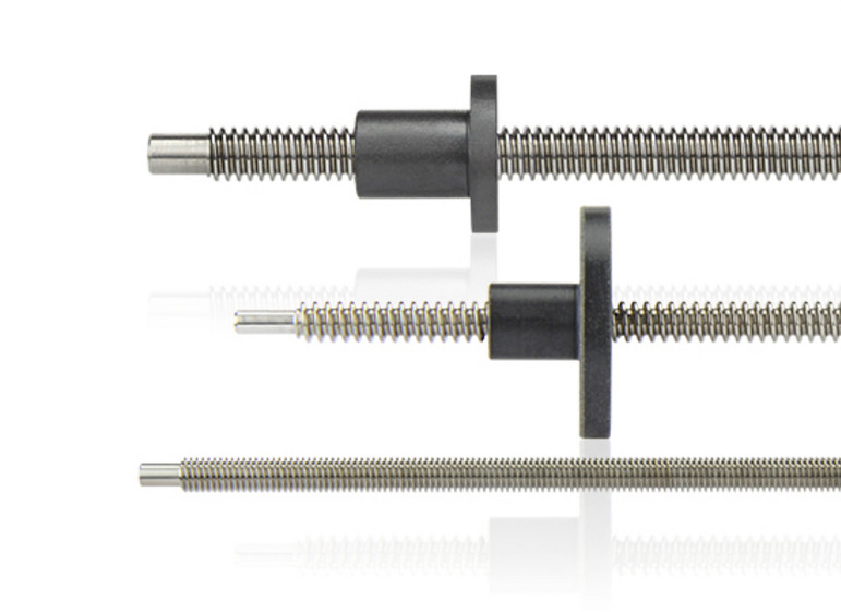 Lead screws and threaded nuts – Nanotec